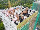 Ход строительства дома № 1 второй пусковой комплекс в ЖК Маяковский Парк - фото 12, Август 2021