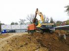 Ход строительства дома Литер 1 в ЖК Грин Парк - фото 13, Ноябрь 2020