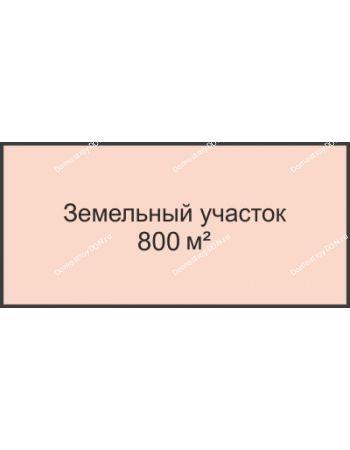 Студия 800 м² в КП Ласточки, дом Участок № 2, 800 м²
