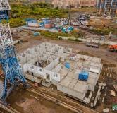 Ход строительства дома № 1.1 в ЖК Мичурино -
