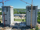 Ход строительства дома № 1 второй пусковой комплекс в ЖК Маяковский Парк - фото 21, Июнь 2021