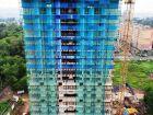 Ход строительства дома № 1 второй пусковой комплекс в ЖК Маяковский Парк - фото 19, Июль 2021