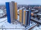 Ход строительства дома № 7 в ЖК Планетарий - фото 3, Январь 2019