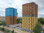 Ход строительства дома № 1 второй пусковой комплекс в ЖК Маяковский Парк - фото 2, Сентябрь 2021