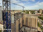 Ход строительства дома Литер 2 в ЖК Династия - фото 13, Август 2020