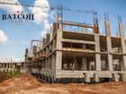Ход строительства дома № 3 в ЖК Ватсон - фото 28, Август 2019