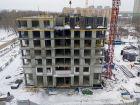 Ход строительства дома № 1 первый пусковой комплекс в ЖК Маяковский Парк - фото 61, Декабрь 2020