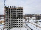 Ход строительства дома № 1 первый пусковой комплекс в ЖК Маяковский Парк - фото 40, Март 2021