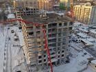 Ход строительства дома № 1 первый пусковой комплекс в ЖК Маяковский Парк - фото 52, Январь 2021
