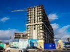 Ход строительства дома Литер 1 в ЖК Первый - фото 147, Декабрь 2017