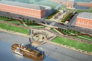 Благоустройство площади перед Зачатьевской башней Нижегородского кремля - фото 1