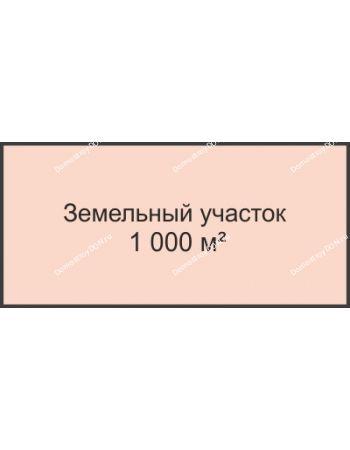 Студия 1000 м² в КП Ясно-Радово, дом Участок 1000 м²