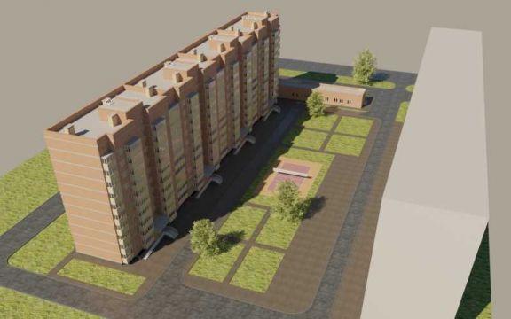 ЖК Сосновоборск, 8 мкр, 4 квартал, дом 11 - фото 1