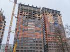 Ход строительства дома № 2 в ЖК Аврора - фото 22, Февраль 2020