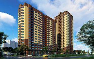 Квартиры комфорт класса<br>от 41 000 руб/м².<br> Закрытая охраняемая территория.