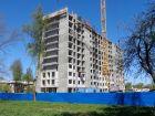 Ход строительства дома 60/1 в ЖК Москва Град - фото 88, Май 2017