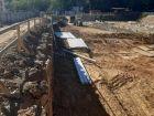 Ход строительства дома № 3 в ЖК Квартет - фото 64, Сентябрь 2020