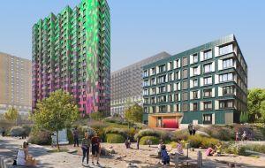 При покупке квартиры 116,73 кв.м (18 этаж) — паркинг в подарок