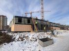 ЖК Университетский - ход строительства, фото 74, Декабрь 2020
